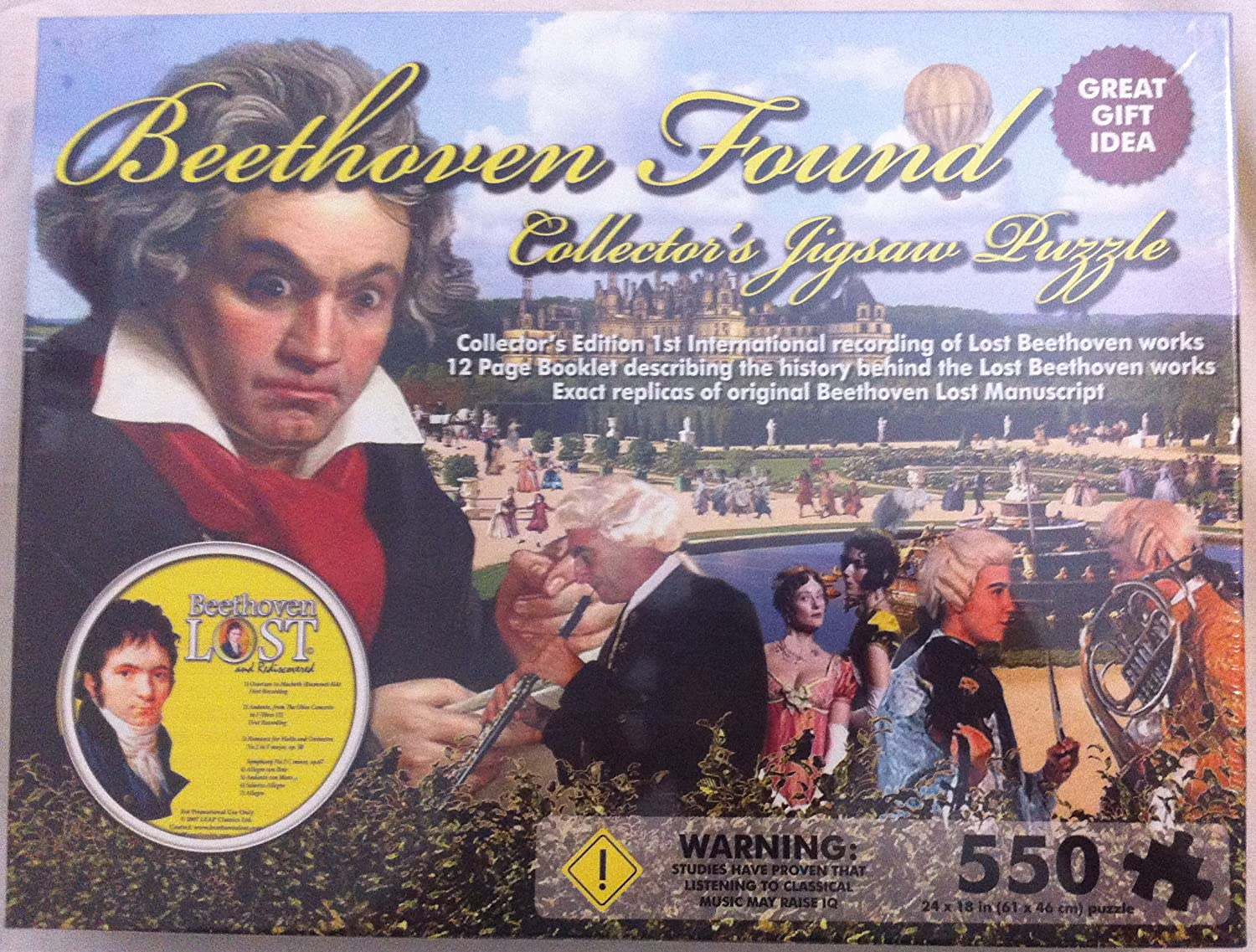 Beethoven Found Collector's Jigsaw Puzzle