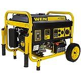 WEN 56475 4750-Watt Gasoline Powered Portable Generator with Electric Start, CARB CompliantWEN 56475 4750-Watt Gasoline Powered Portable… by WEN