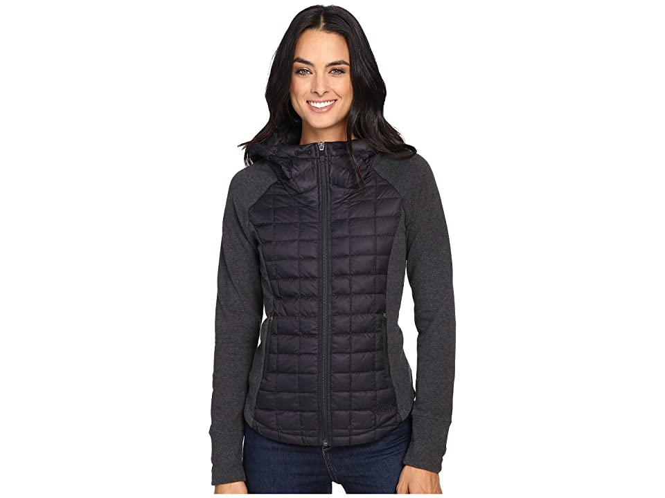 The North Face Endeavor ThermoBall Jacket (TNF Black/TNF Black Heather (Prior Season)) Women