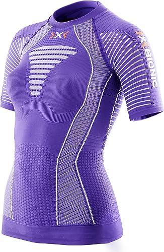 X-Bionic Maillot de Course pour FonctionneHommest effecteur Power Ow SH SL, Femme, FonctionneHommest Lady EFFEKTOR Power Ow Shirt SH_SL.