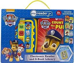 Nickelodeon - PAW Patrol Electronic Me Reader Jr. 8 Sound Book Library - PI Kids