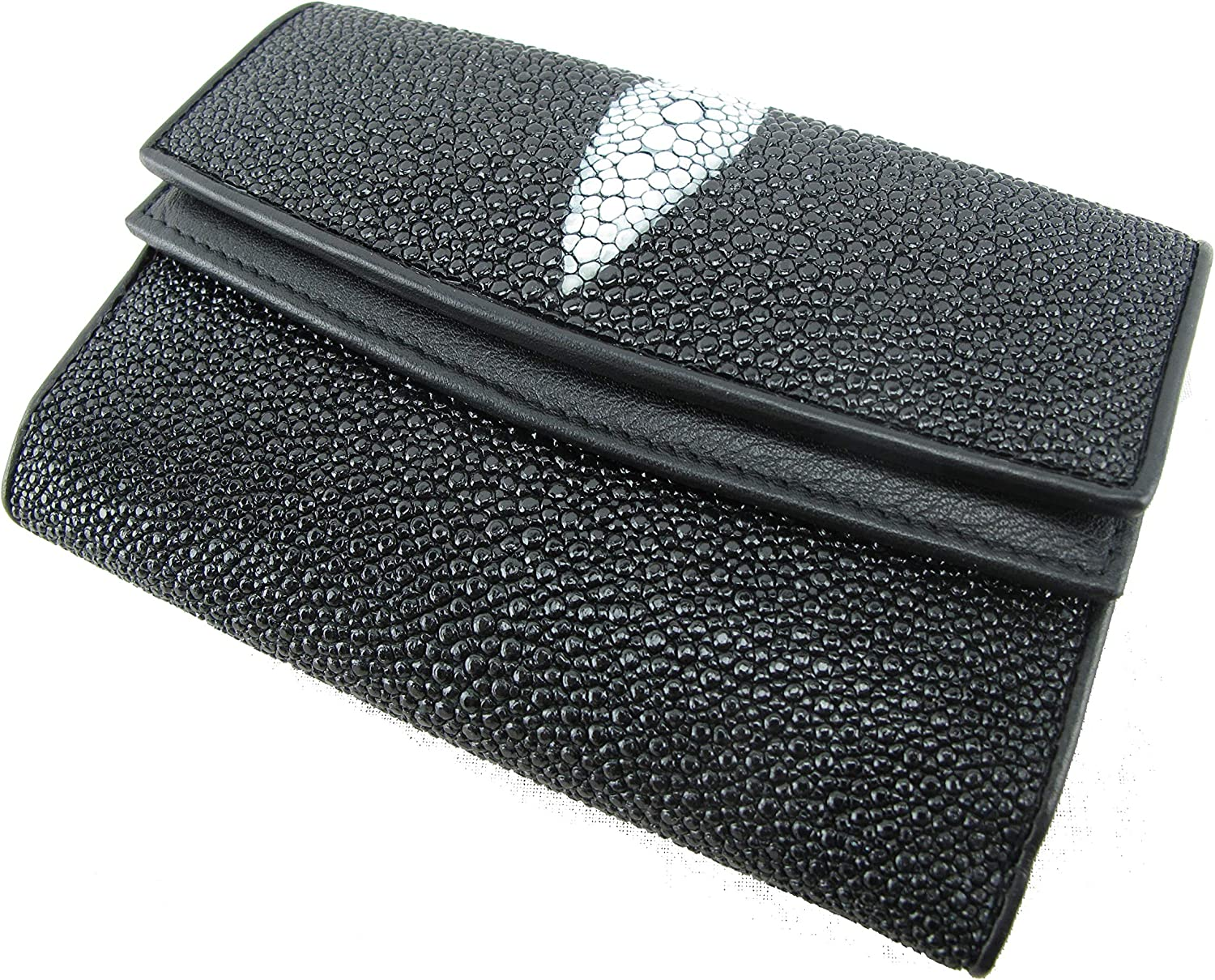 PELGIO Genuine Stingray Skin Women's Purse Clutch Medium Super Clearance SALE! Limited time! special price Wallet