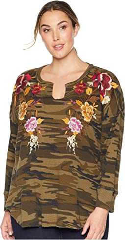 Plus Size Zosia V-Neck Thermal
