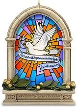 Hallmark Keepsake Christmas Ornament 2018 Year Dated Dove Church Bible, Everlasting Light Stained Glass Window