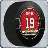 Jonathan Toews Hockey Puck Live 3D WALLPAPER