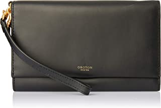 Oroton Women's Escape Clutch & Pouch, Black, One Size