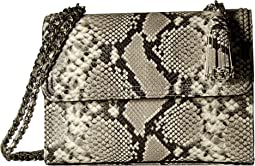 Tory Burch Fleming Embossed Convertible Shoulder Bag