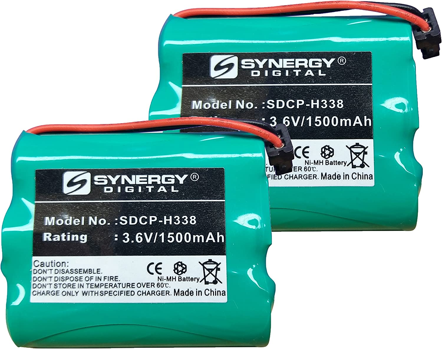 Synergy Digital Cordless Year-end gift Phone Batteries Works with Virginia Beach Mall Panasonic K