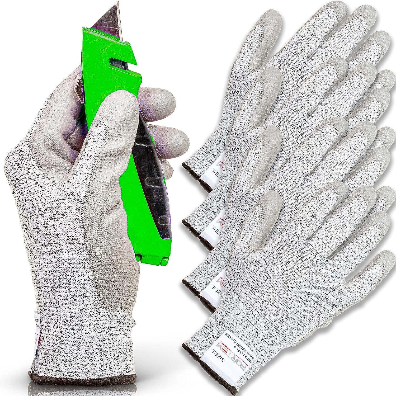 FORTEM Under blast sales OFFicial Cut Resistant Gloves 4 Kevlar Level 5 Protection