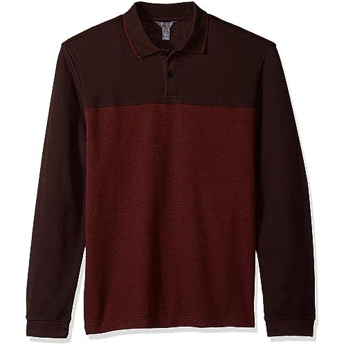 Men S Burgundy Shirt Amazon Com