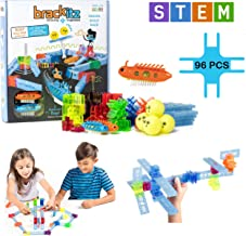 Brackitz Bugz Race Park STEM Discovery Building Toy for Kids Ages 3, 4, 5, 6+ Years Old Fun Creative Learning Toys for Boys & Girls Best Children Educational Construction Kits 96 Piece Set