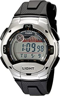 Casio W753 Digital Sports Watch w/Moon & Tide Data