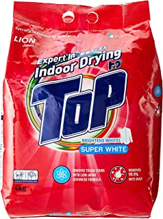 TOP Powder Detergent, Super White, 4kg
