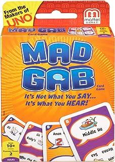 Mattel Games Mad Gab Picto-Gabs Card Game
