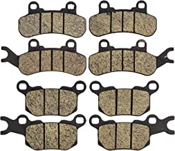 NICHE Brake Pad Kit for Can-Am Defender HD10 HD8 Max T 715900379 715900380 715900381 Complete Organic
