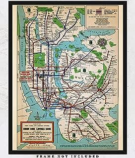 vintage subway posters