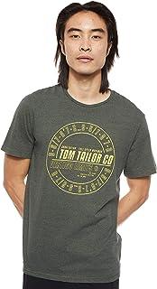 Tom Tailor Men's Over Dye T-Shirt