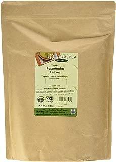 Davidson's Tea Bulk, Organic Peppermint Leaves, 16-Ounce Bag