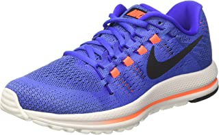 Nike Men's Air Zoom Vomero 12 Running Shoes (9.5, Blue)