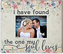 Kindred Hearts Weathered Floral Photo Frame The One My Soul Loves, Multicolor
