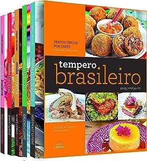 Box tempero brasileiro Bilíngue: 5 Volumes