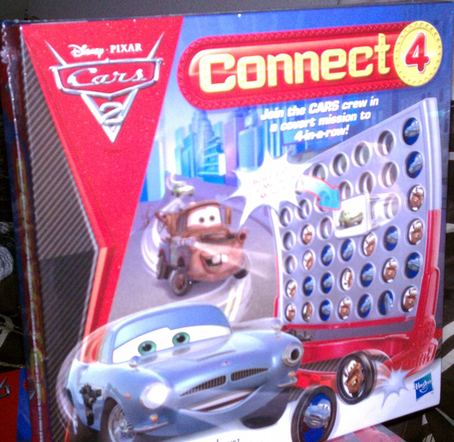 Connect 4 Cars 2 Edition