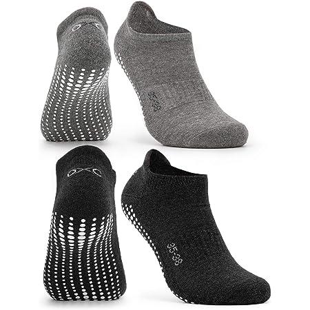 4 x Trampolin.Pro Anti-Rutsch-Socken Größe S 28-30 ABS Socken Pilates Yoga