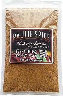 Paulie Spice : Sweet Hickory Smoke Seasoning and Smoky BBQ Rub : 8 oz