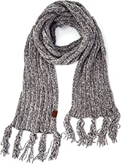 Hatsandscarf C.C Exclusives Chenille Soft Super Chunky Thick Long Big Large Cowl Fringe Scarf