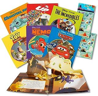 Disney Pixar Storybook Collection Disney Pixar Pop Up Book Set ~ 6 Disney Bedtime Favorite Story Books | Pixar Storybook B...