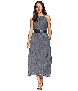 Halter Dress w/ Belt