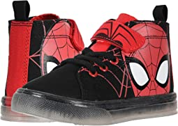 SPF725 Spider-Man™ Canvas Hi Top (Toddler/Little Kid)