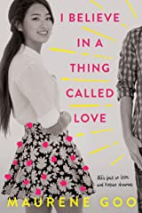 I Believe in a Thing Called Love Kindle Edition