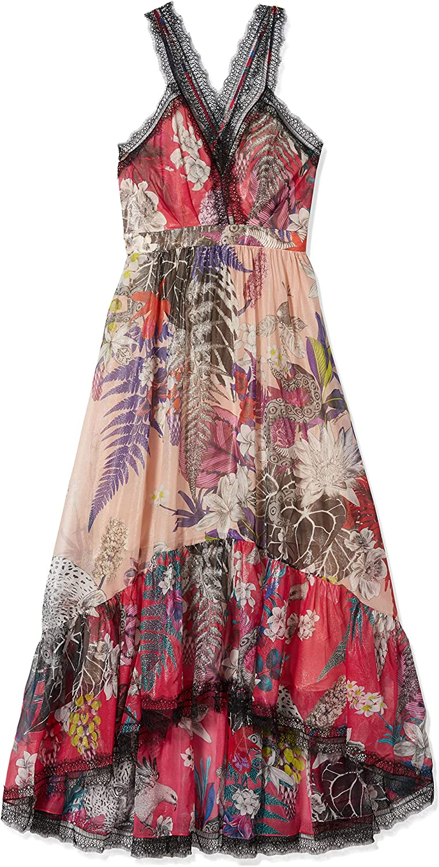 Just Cavalli Womens New Zeland Print Maxi Dress