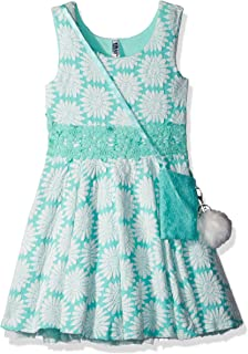 فستان بناتي كبير برباط من Beautees