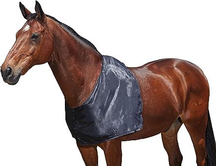 WEATHERBEETA Satin Shoulder Guard Black Full Horse Rug