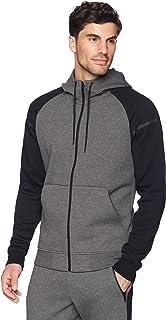Peak Velocity Men's Metro Fleece Full-Zip Athletic-Fit Varsity Hoodie
