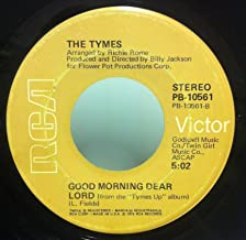The Tymes It's Cool / Good Morning Dear Lord 45 rpm single