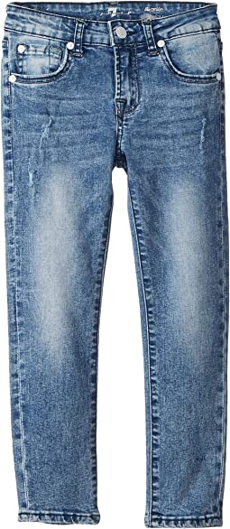 Ankle Skinny Stretch Denim Jeans in Authentic Sonar (Big Kids)