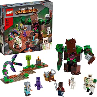 LEGO 21176 Minecraft The Jungle Abomination Dungeons Playset, Action Figure Toy for Kids 8+ Years Old, New 2021