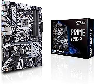 ASUS Prime Z390-P - Placa base ATX Intel de 8a y 9a gen. LGA1151 con OptiMem II, DDR4 4266 MHz, dos M.2, Intel Optane Memory, SATA 6 Gb/s y USB 3.1 Gen.2