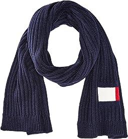 Tommy Hilfiger Knit Logo Scarf