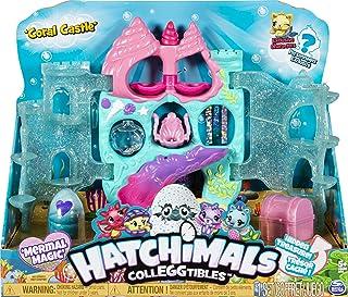 해치멀 에그 장난감 Hatchimals CollEGGtibles, Coral Castle Fold Open Playset with  Mermal Character (Amazon  Set)
