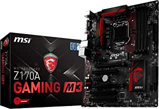 Best msi z170a gaming m3 Reviews