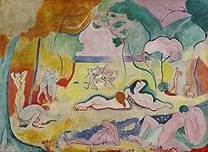 Henri Matisse - The Joy of Life, Size 18x24 inch, Poster Art Print Wall Decor