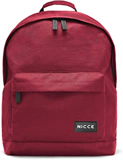 Nicce KAIT091 Core Casual Backpack for Men - Merlot (Red)