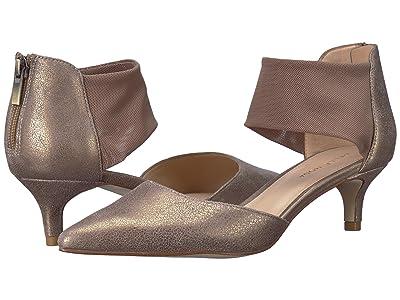 Pelle Moda Dezi (Platinum Distressed Metallic Suede) Women