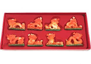 Colored Dragons Fabulous Hong TZE Collection -Set of Eight