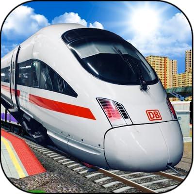 New City Train Simulator 3D - Public Transporter Train Racing Game 2018