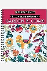 Brain Games - Sticker by Number: Garden Blooms Spiral-bound